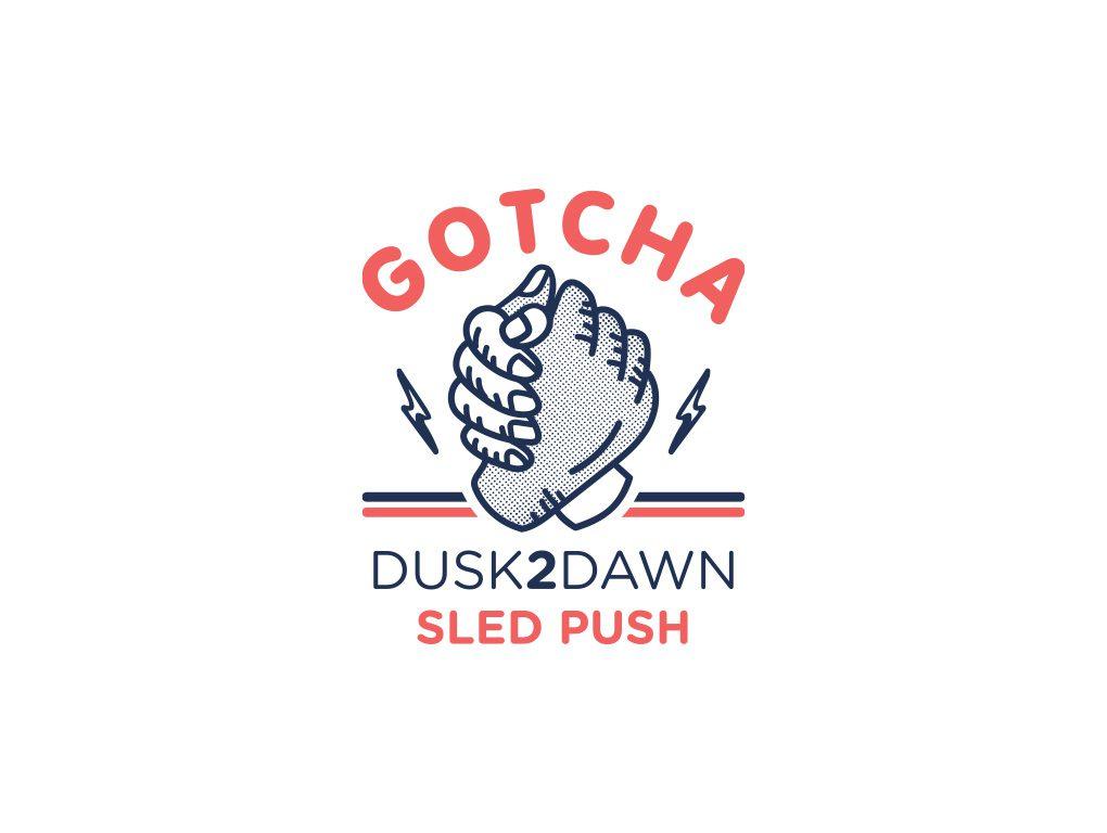 Logo Design - Gotcha D2D Sled Push