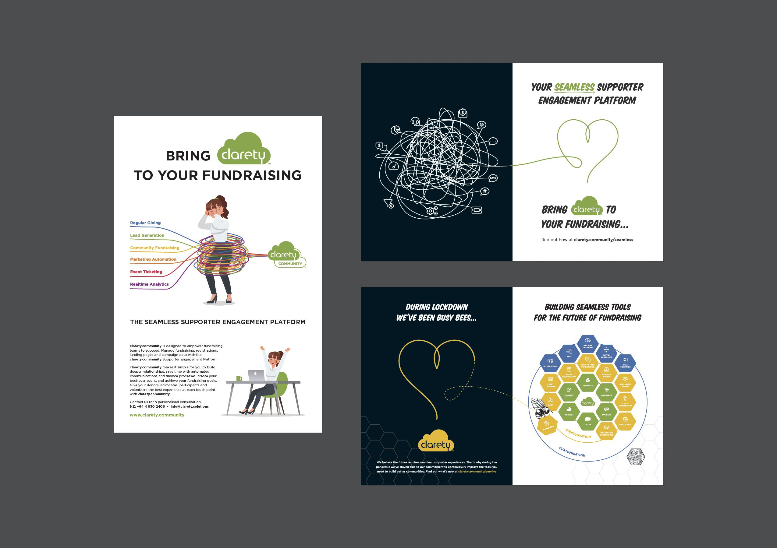 Print Design - Clarety