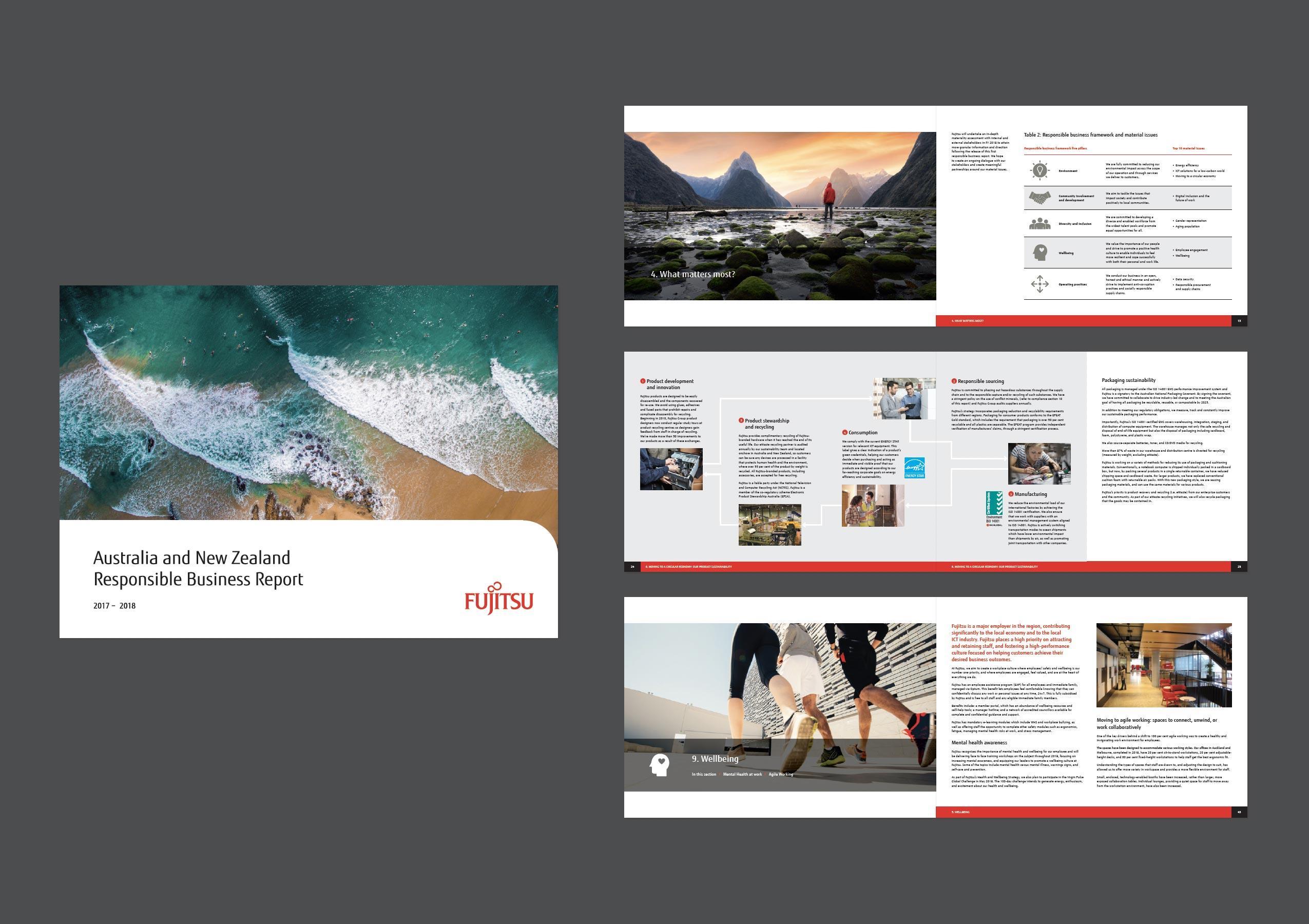 Print Design - Fujitsu