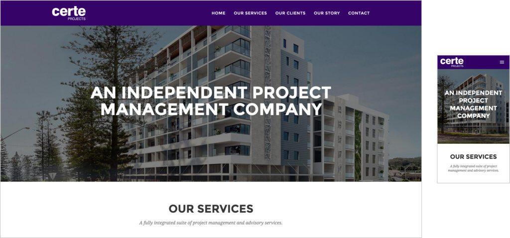 Website Design - CP