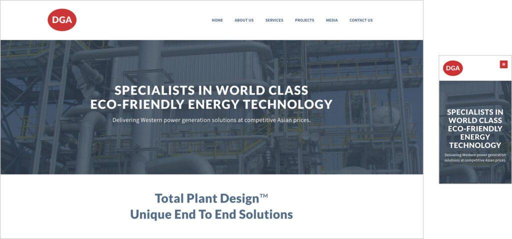 Website Design - DGA