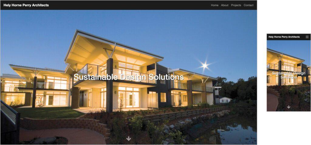 Website Design - HHPA