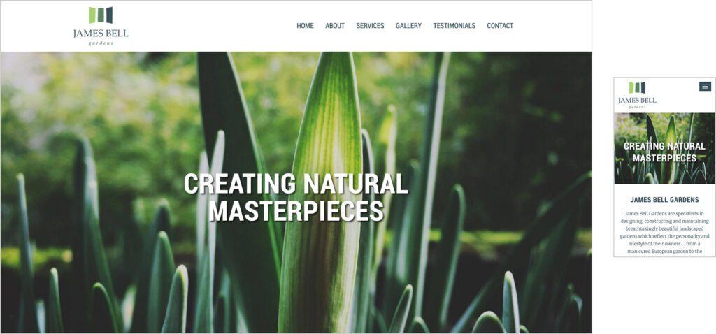 Website Design - JBG
