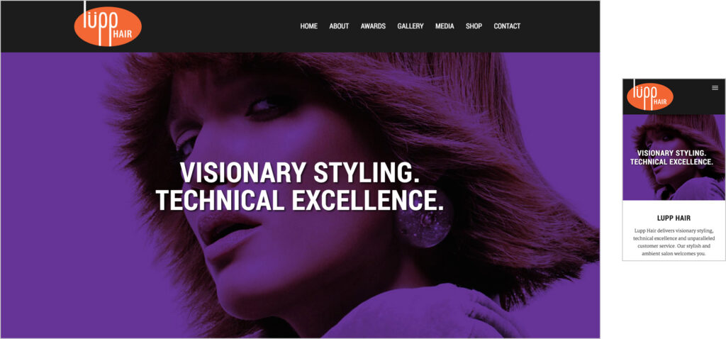 Website Design - LH