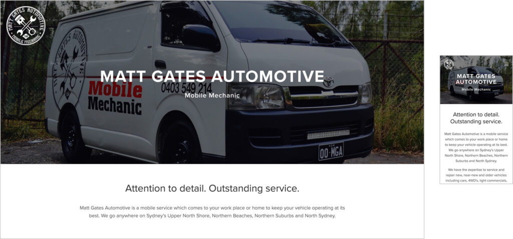 Website Design - MGA